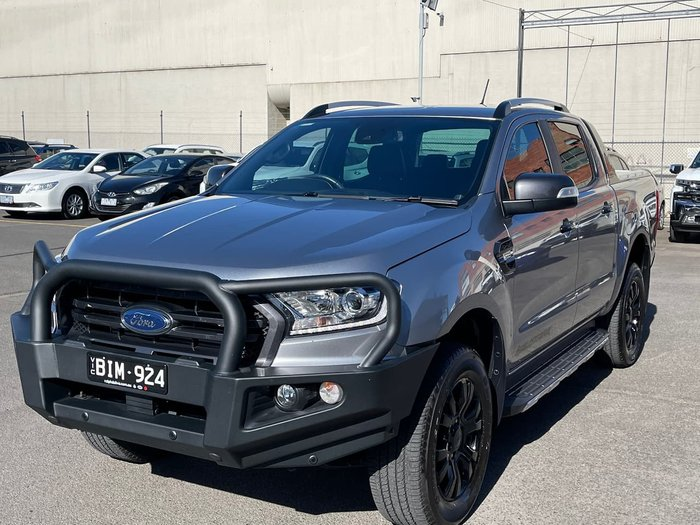 2019 Ford Ranger Wildtrak PX MkIII MY19.75 4X4 Dual Range Grey
