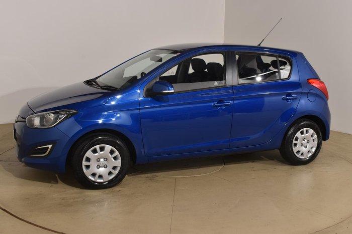 2014 Hyundai i20 Active PB MY15 Pristine Blue