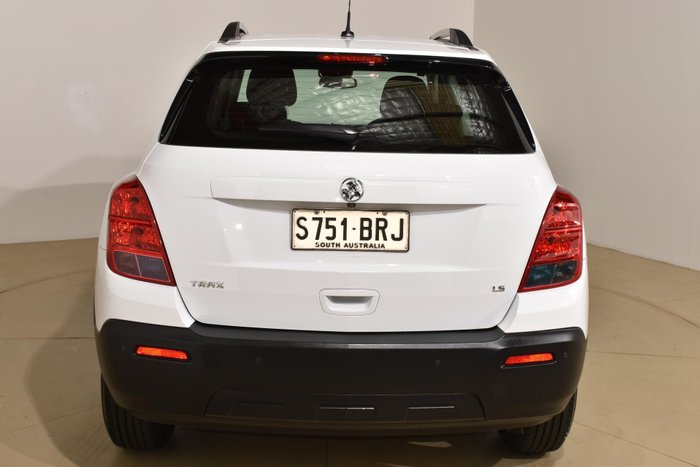 2014 Holden Trax LS TJ MY14 White