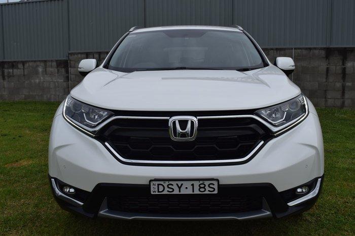 2017 Honda CR-V VTi-S RW MY18 White Orchid