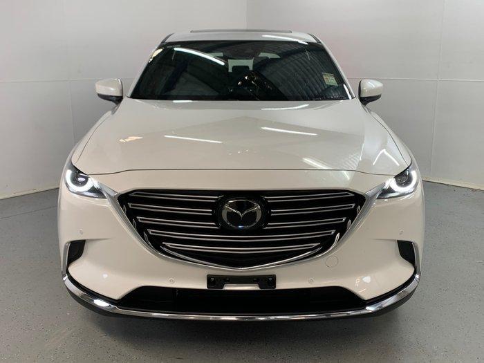 2019 Mazda CX-9 Azami LE TC 4X4 On Demand Snowflake White Pearl