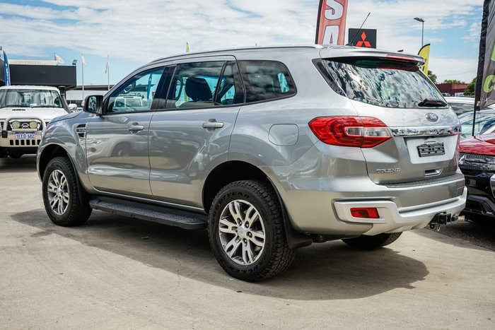 2016 Ford Everest Trend UA 4X4 Dual Range Silver