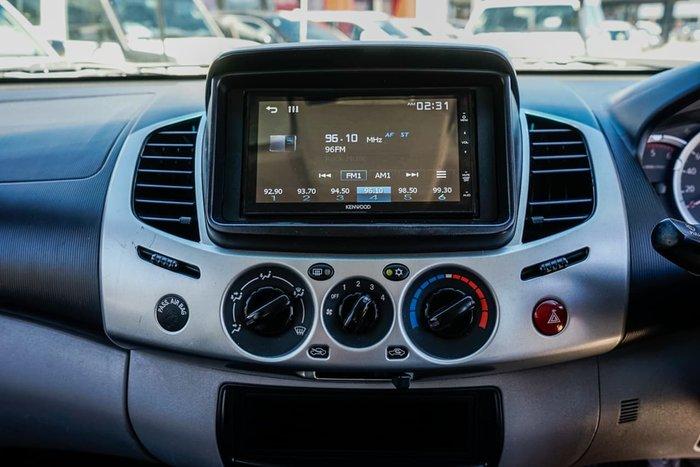 2011 Mitsubishi Triton GL-R MN MY11 4X4 Dual Range Black