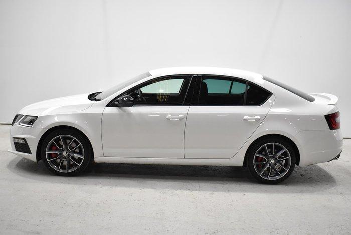 2019 SKODA Octavia RS 180TSI NE MY19 White