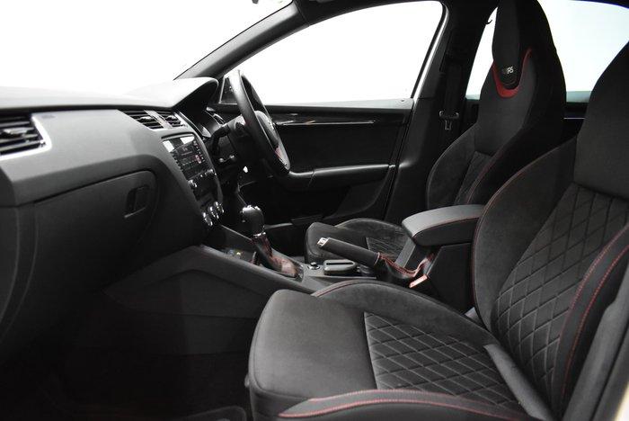 2019 SKODA Octavia RS 180TSI NE MY19 Candy White
