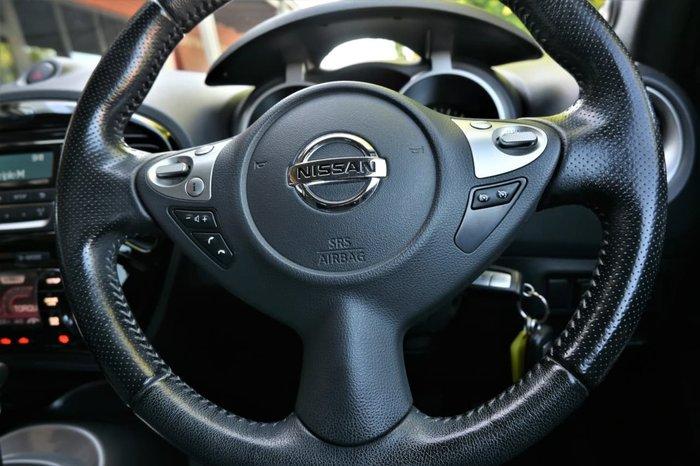 2016 Nissan JUKE ST F15 Series 2 Yellow