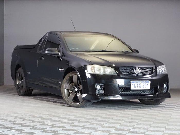 2008 Holden Ute SS VE Black