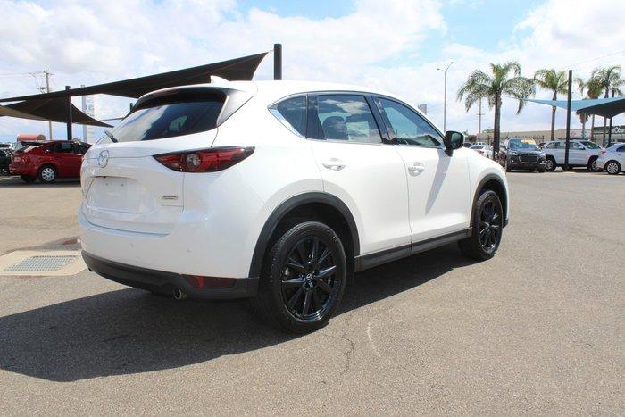 2017 Mazda CX-5 GT KF Series 4X4 On Demand Snowflake White Pearl