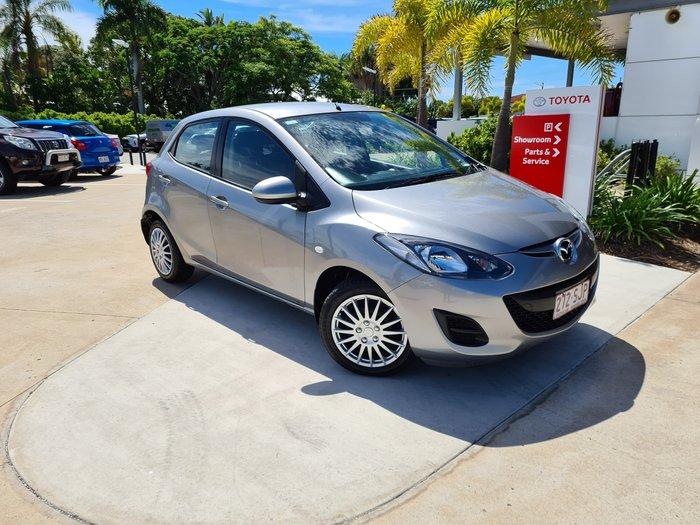 2012 Mazda 2 Neo DE Series 2 MY12 Aluminium