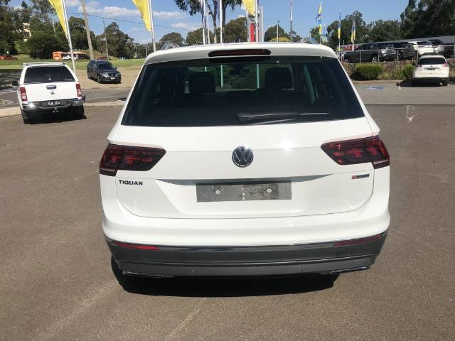 2019 Volkswagen Tiguan 162TSI Highline 5N MY19.5 Four Wheel Drive PURE WHITE