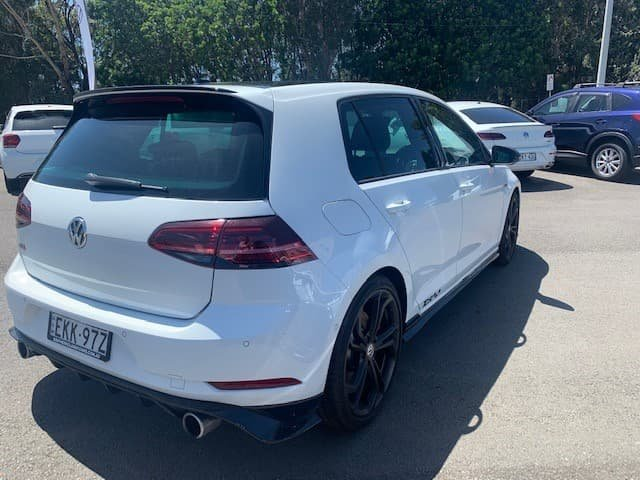 2020 Volkswagen Golf GTI TCR 7.5 MY20 Pure White