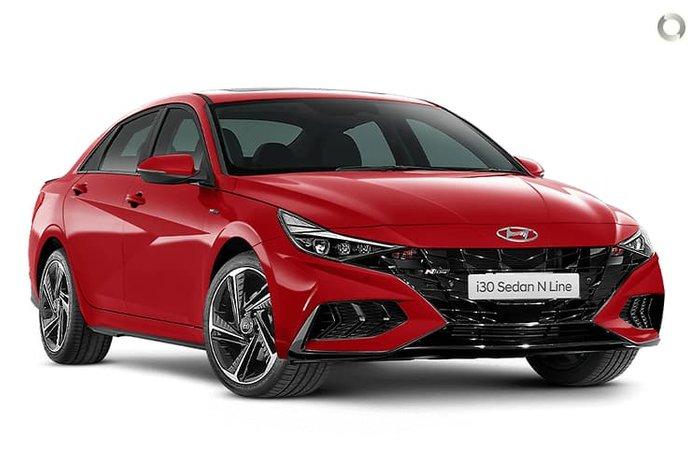 2020 Hyundai i30 N Line CN7.V1 MY21 Fiery Red