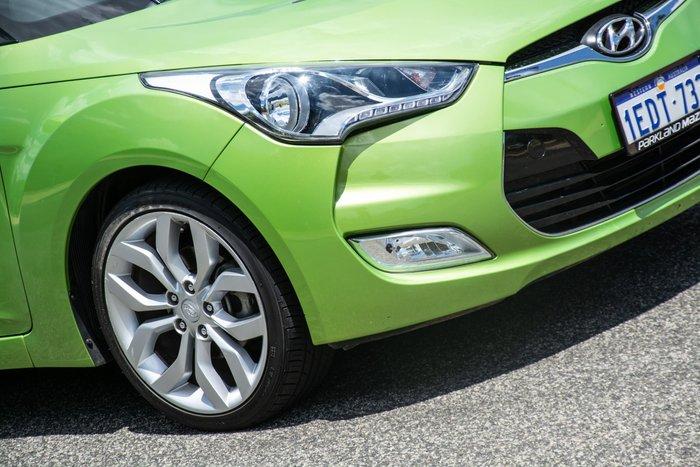 2013 Hyundai Veloster FS2 Green Apple