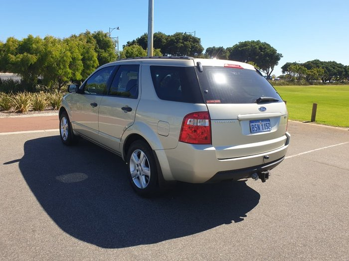2007 Ford Territory TX SY Four Wheel Drive Gold