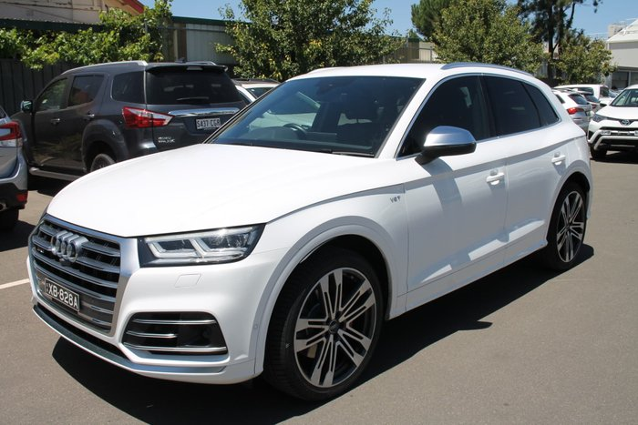 2018 Audi SQ5 FY MY18 Four Wheel Drive White