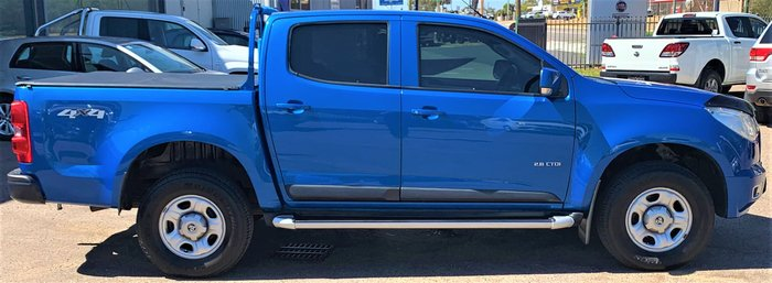 2014 Holden Colorado LX RG MY14 4X4 Dual Range Blue