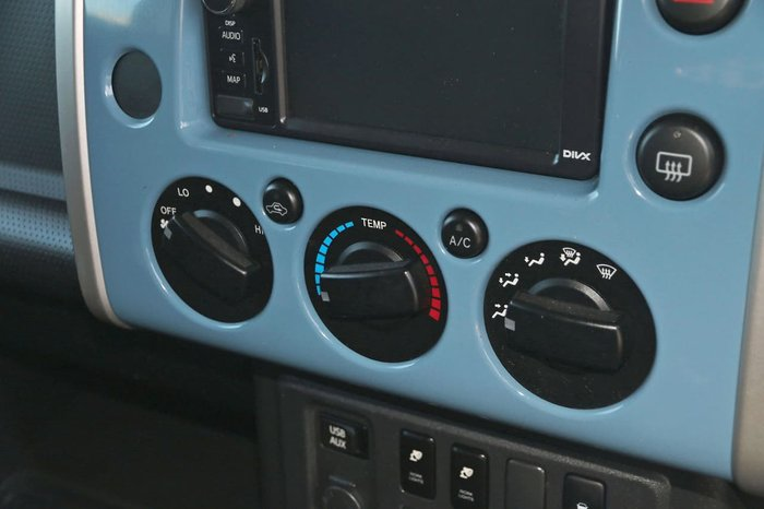 2016 Toyota FJ Cruiser GSJ15R MY14 4X4 Dual Range Blue
