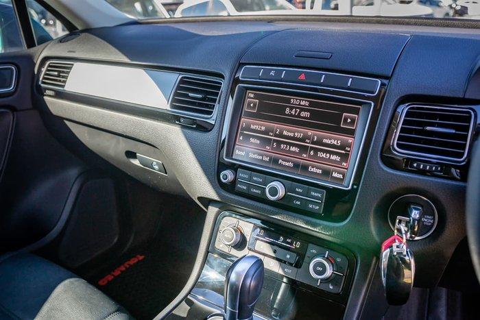 2015 Volkswagen Touareg 150TDI 7P MY15 Four Wheel Drive Blue