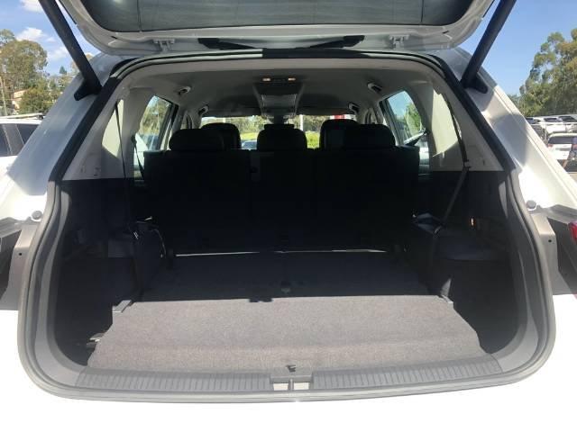 2020 Volkswagen Tiguan 132TSI Comfortline Allspace 5N MY20 Four Wheel Drive PURE WHITE