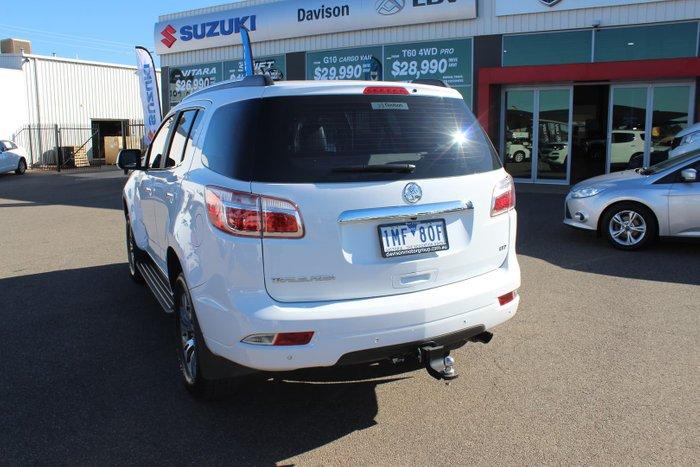 2018 Holden Trailblazer LTZ RG MY18 4X4 Dual Range Summit White