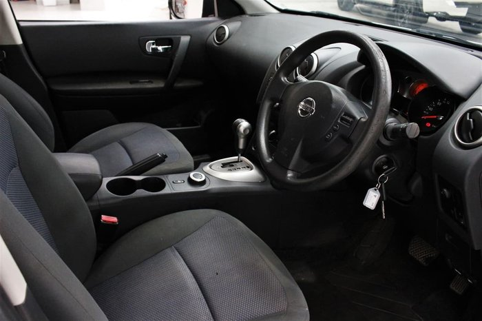 2009 Nissan Dualis ST J10 4X4 On Demand White