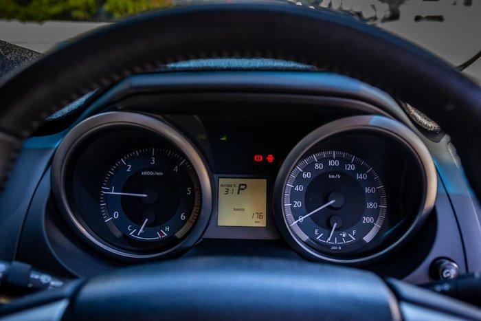2015 Toyota Landcruiser Prado Altitude KDJ150R MY14 4X4 Dual Range White