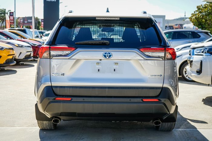 2019 Toyota RAV4 GXL AXAH54R 4X4 On Demand Silver