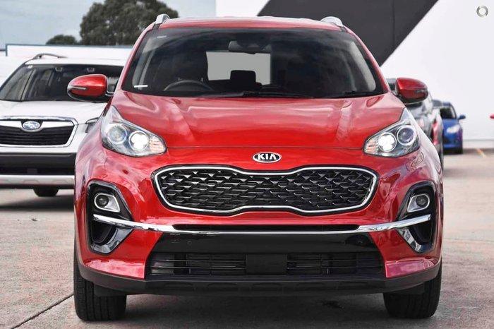 2020 Kia Sportage SX+ QL MY21 Fiery Red