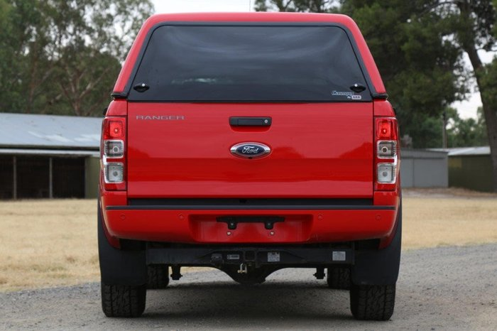 2017 Ford Ranger XL PX MkII MY18 4X4 Dual Range Red