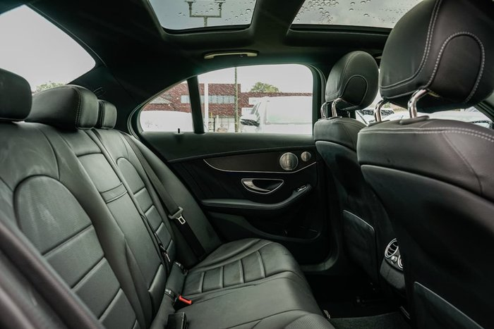 2018 Mercedes-Benz C-Class C200 W205 Black