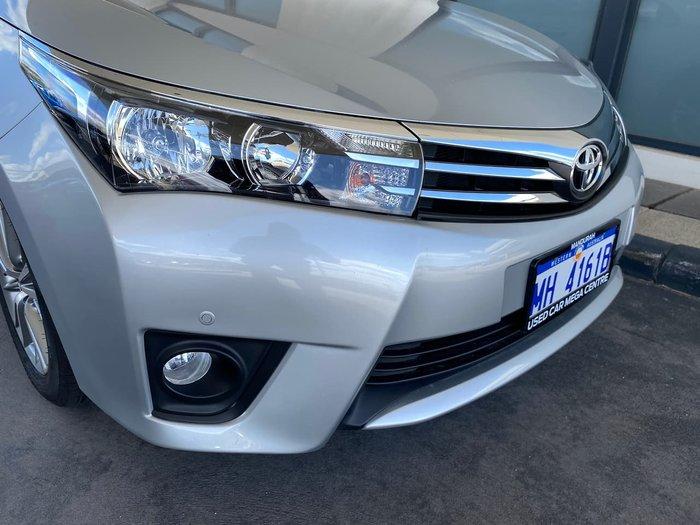 2014 Toyota Corolla SX ZRE172R Silver