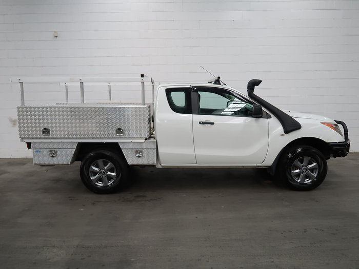 2015 Mazda BT-50 XT UP 4X4 Dual Range White