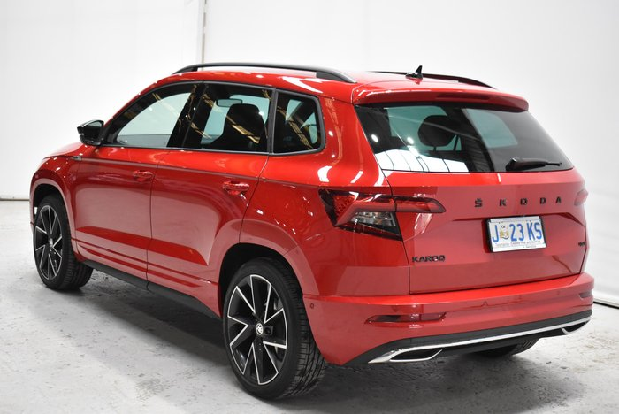 2020 SKODA Karoq 140TSI Sportline NU MY20.5 4X4 On Demand Velvet Red