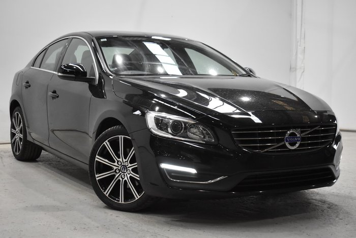 2016 Volvo S60 T4 Luxury MY16 Black