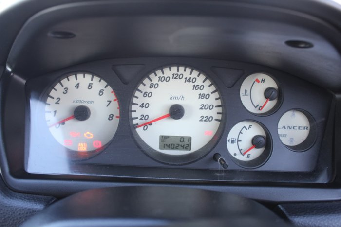 2006 Mitsubishi Lancer ES CH MY06 White