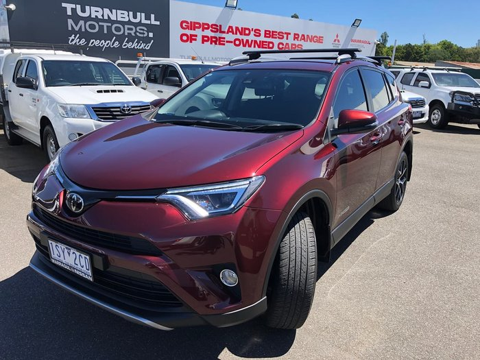 2017 Toyota RAV4 GXL ALA49R 4X4 On Demand Red