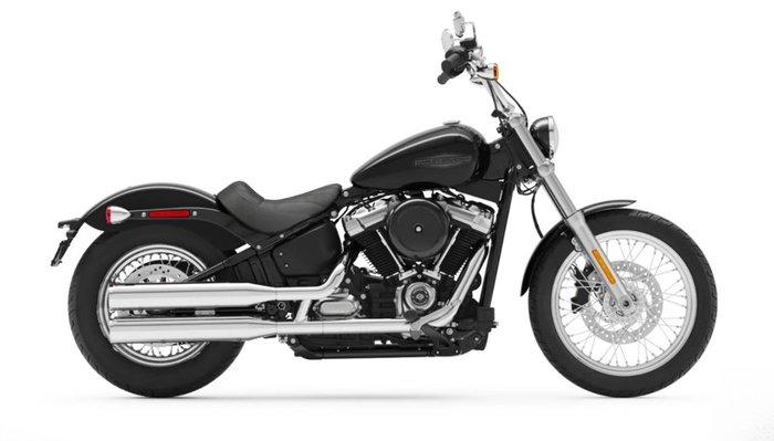 2021 Harley-davidson FXST SOFTAIL STANDARD (107) BLACK