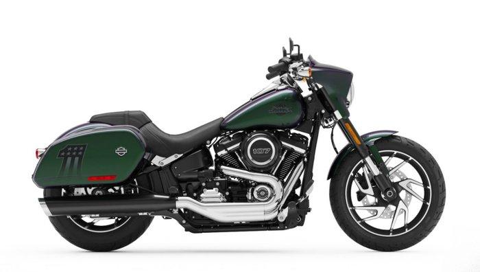 2021 Harley-davidson FLSB SPORT GLIDE BLACK