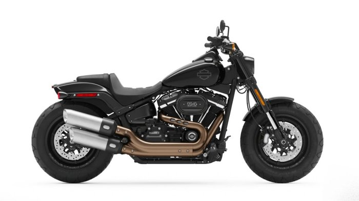 2021 Harley-davidson FXFBS FAT BOB (114) BLACK