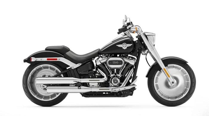 2021 Harley-davidson FLFBS FAT BOY (114) BLACK