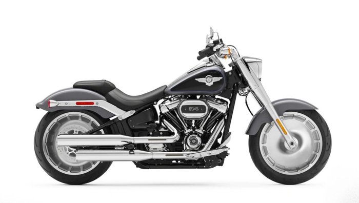2021 Harley-davidson FLFBS FAT BOY (114) BLACK