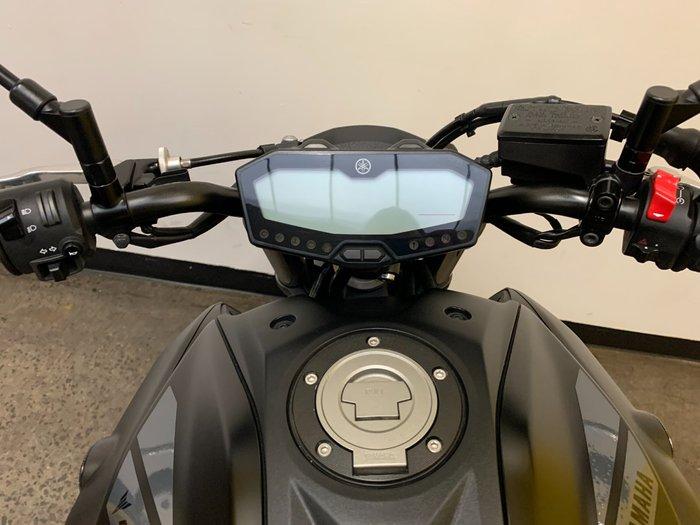 2018 Yamaha MT-07 HOA (ABS) Black