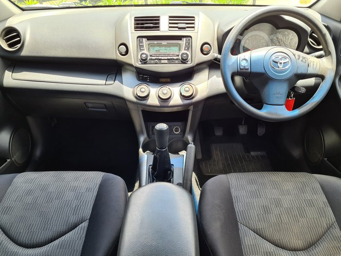2012 Toyota RAV4 CV ACA38R MY12 Silver Pearl