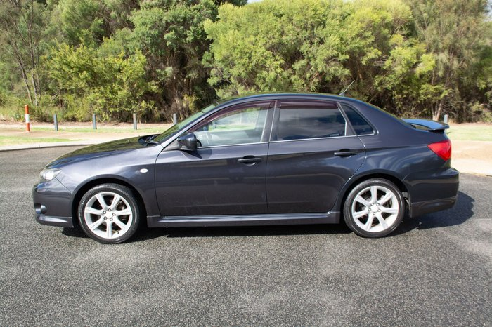2009 Subaru Impreza RS G3 MY09 Four Wheel Drive Grey