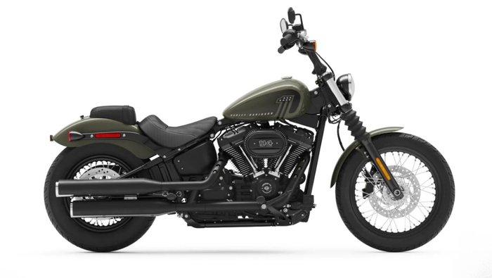 2021 Harley-davidson FXBBS STREET BOB (114) BLACK