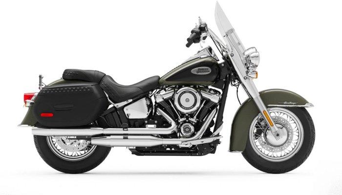 2021 Harley-davidson FLHC HERITAGE CLASSIC 107 BLACK
