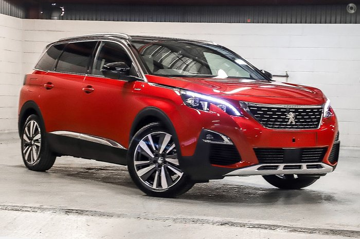 2020 Peugeot 5008 GT Line P87 MY20 Red
