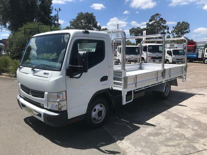 2014 FUSO MITSUBISHI CANTER 515 AUTO WHITE