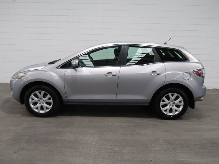 2007 Mazda CX-7 Classic ER Series 1 MY07 Four Wheel Drive Silver