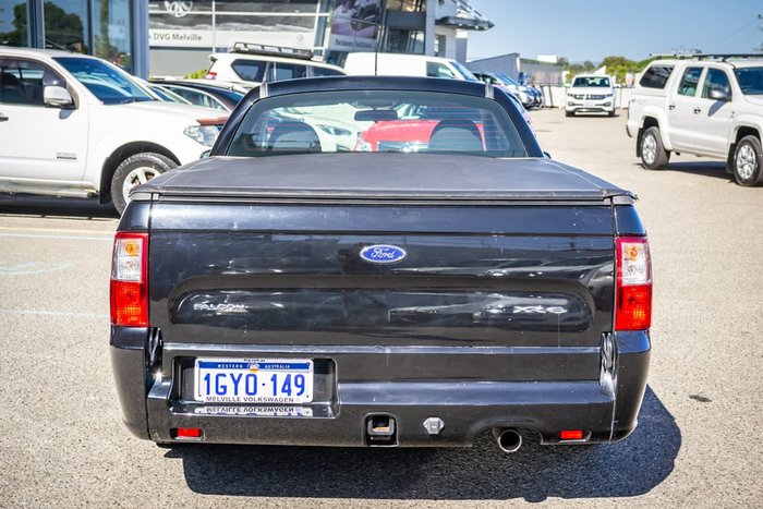 2010 Ford Falcon Ute XR6 FG Grey